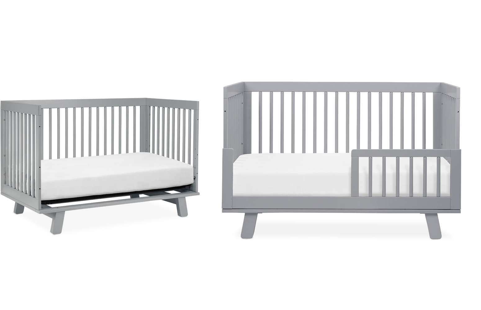 babyletto hudson in convertible crib with toddler bed  - grows with your baby