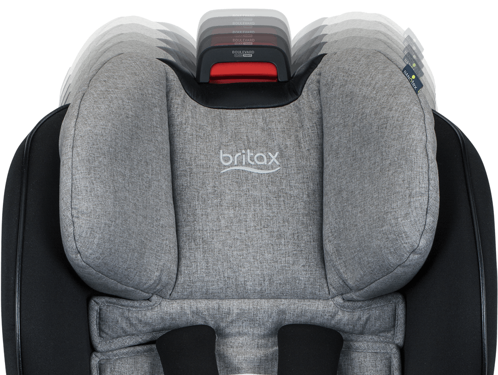 Britax Boulevard Clicktight Anti Rebound Bar Convertible Car Seat Nanotex Moisture Odor And Stain Resistant Fabric