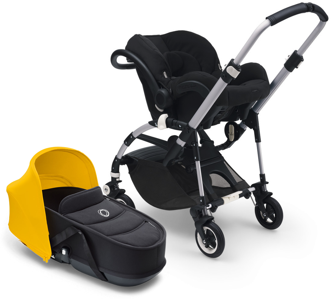 Attach A Compatible Car Seat Adapters Required Sold Separately Or Cozy Bassinet And Can Also Be Used Independently
