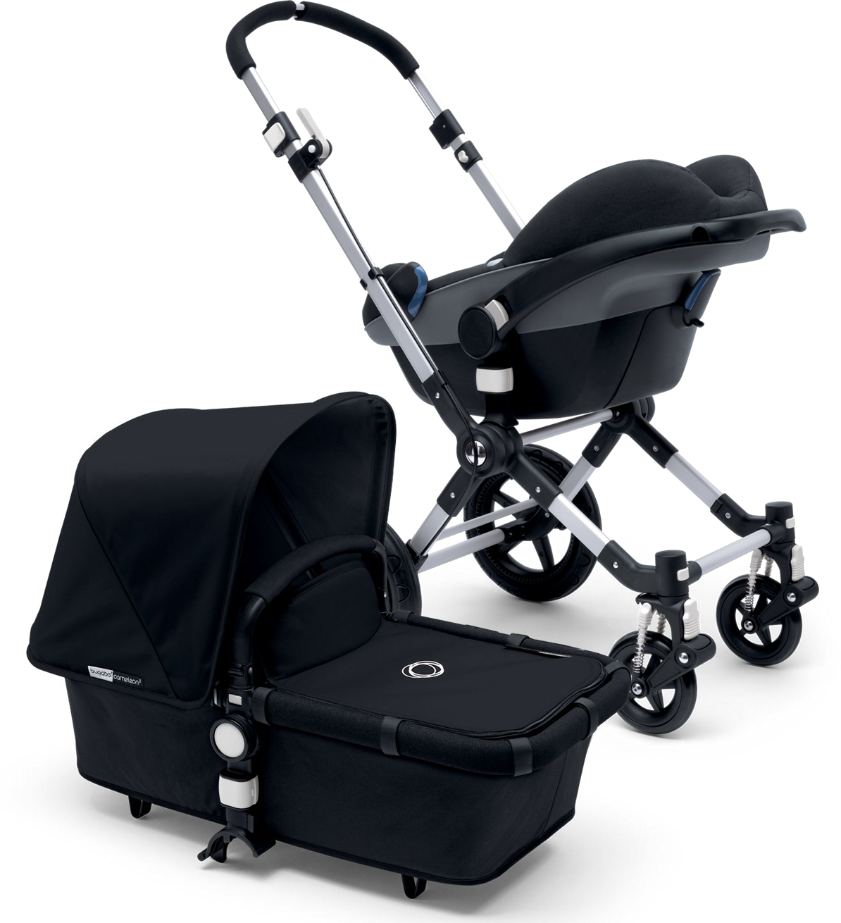 Attach A Car Seat For Easy Travel Or Bassinet Ultimate Comfort