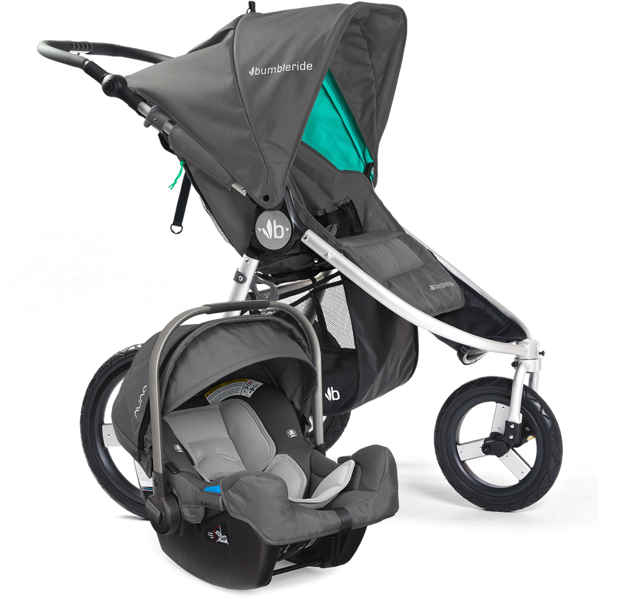 bumbleride speed jogging stroller dawn grey. Black Bedroom Furniture Sets. Home Design Ideas