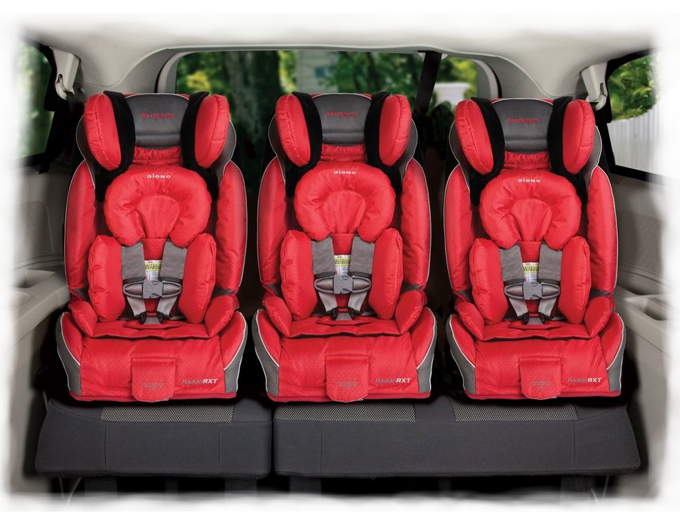 Diono Radian RXT Convertible + Booster Car Seat - Nitro