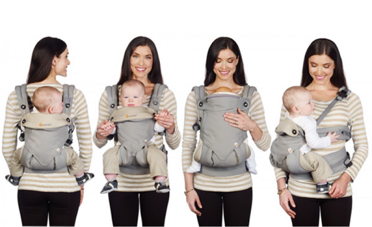 09a9f94f60d Ergobaby Four Position 360 Carrier - Black Camel