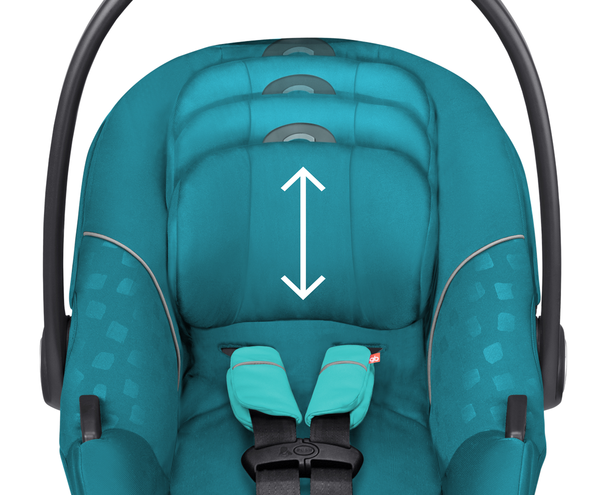 gb asana 2016 infant car seat sea port blue. Black Bedroom Furniture Sets. Home Design Ideas