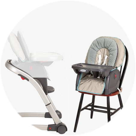 Superior ... Accommodate Two Children Simultaneously When Used As A Booster And Chair