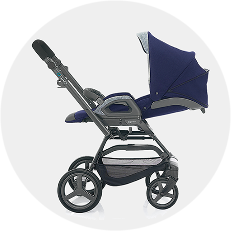 Reversible seat reclines in both forward and rear-facing modes