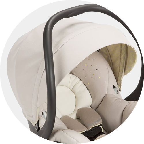 Extended canopy with flip-out visor for maximum UV protection.  sc 1 st  Albee Baby & Maxi Cosi Mico Max 30 Infant Car Seat - Moon Birch