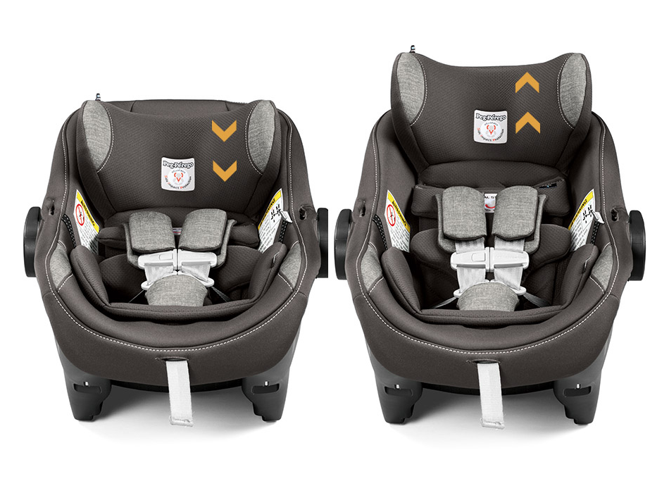 Peg Perego 2018 Primo Viaggio 4-35 Nido Infant Car Seat - Ice