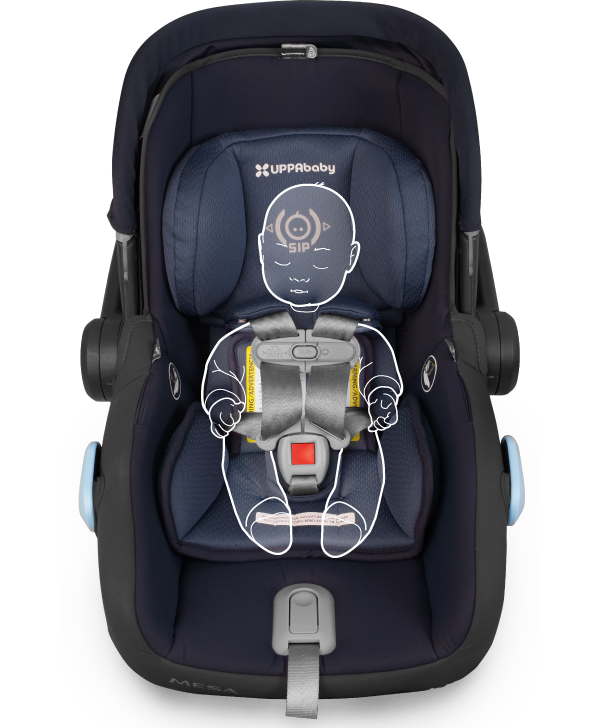 Uppababy 2018 2019 Mesa Infant Car Seat Denny Red