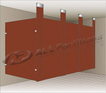 Ceiling Hung Partitions