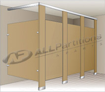 Floor Anchored / Overhead Braced Partitions