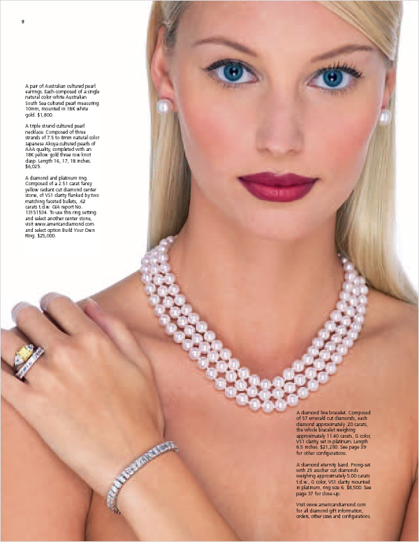 American Pearl 2005 Catalog Cover