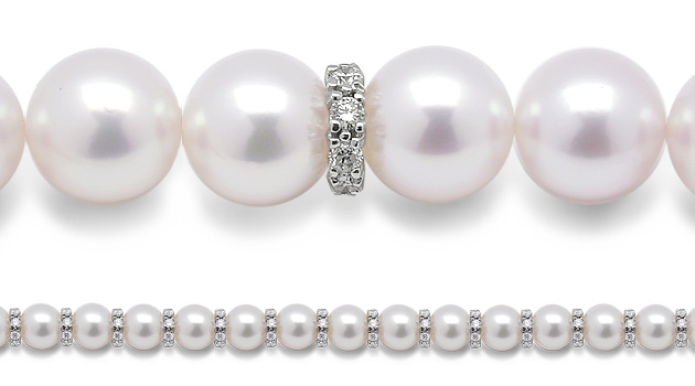 American Pearl | Diamond Rondells for Pearls