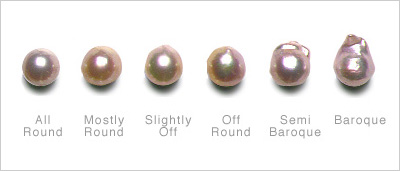 Different Shapes Of Akoya Pearls American Pearl