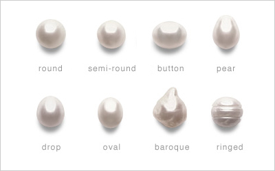 South Sea Pearl Shapes American Pearl