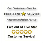 Top 5-Star Rated Yahoo!Store by our Customers