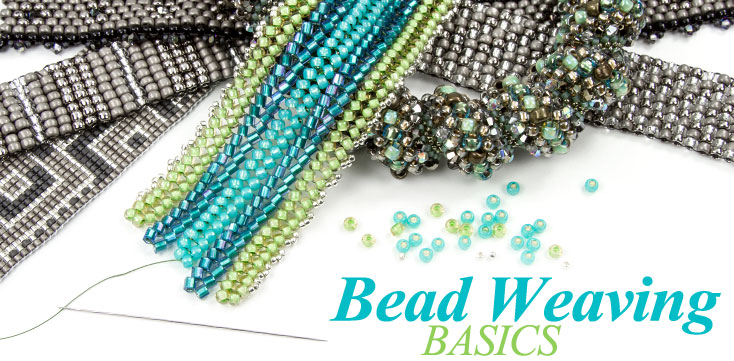 Thread Management - seed beads and thread. Peyote Stitch, Loom or Square Stitch and Two-Hole beads bracelets