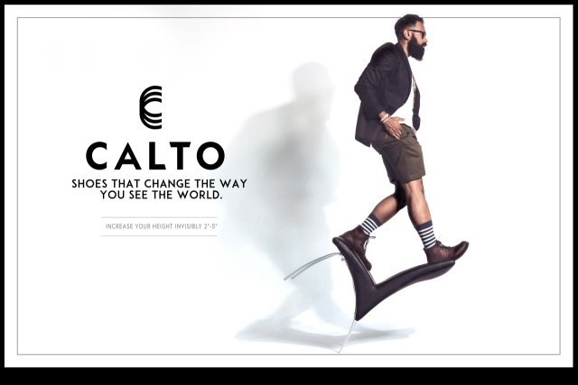 CALTO elevator shoes
