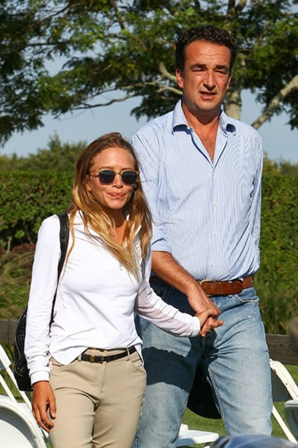 "Mary-Kate Olsen and Olivier Sarkozy: 5'2"" and 6'3"" - Tallmenshoes.com"