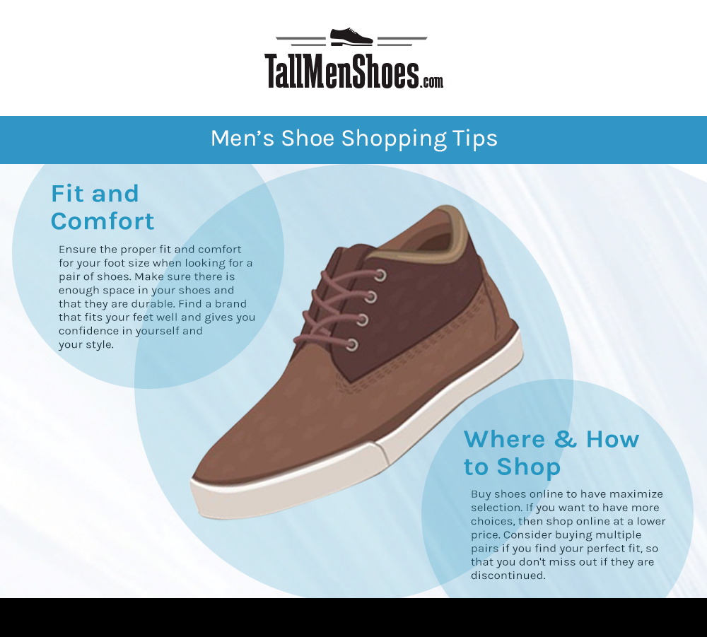 7e9b1ba5 Shopping Tips for Buying Men's Shoes