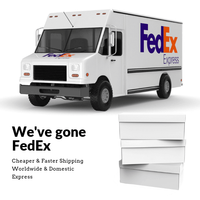 Now cheaper and faster shipping with FedEx - Tallmenshoes.com