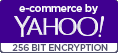 e-commerce by Yahoo! 256 BIT ENCRYPTION