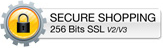 Secure Shopping 256 Bits SSL v2/v3