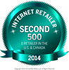 Internet Retailer second 500 in 2014!