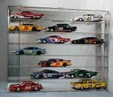 Model Car Display Cases