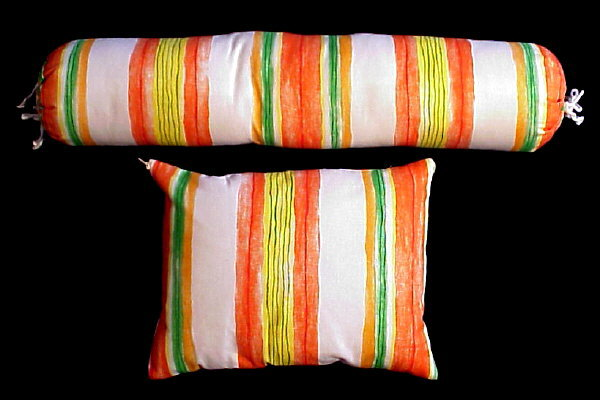 Pillow/Bolster Set - Fiesta Stripes