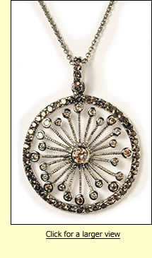 Cleopatra's Wheel Necklace
