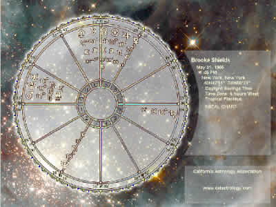 The Starscape Natal Chart