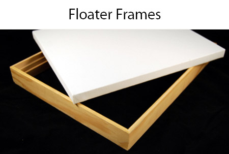 CanvasPlace floater frames
