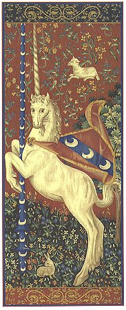 UNICORN TAPESTRY WALL HANGING (One Of The Famous Medieval Tapestries)