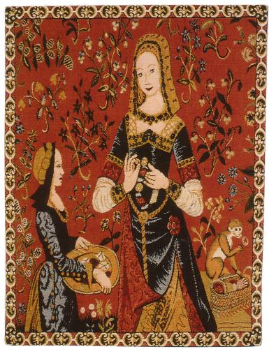 From The Lady And The Unicorn Tapestry Set