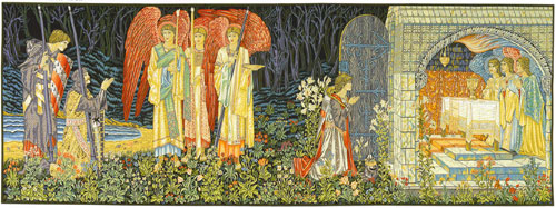 William Morris Tapestry The Vision
