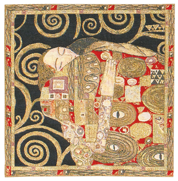 Klimt Accomplishment Cushion Cover, 18in x 18in