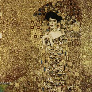Klimt Ages Of Women Cushion Cover, 20in x 20in unfinished panel