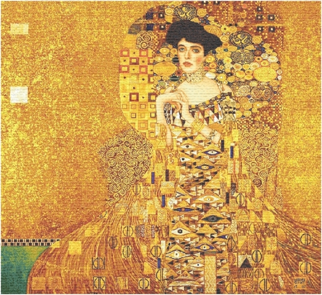 Adele Klimt Small Tapestry, H28in x W28in