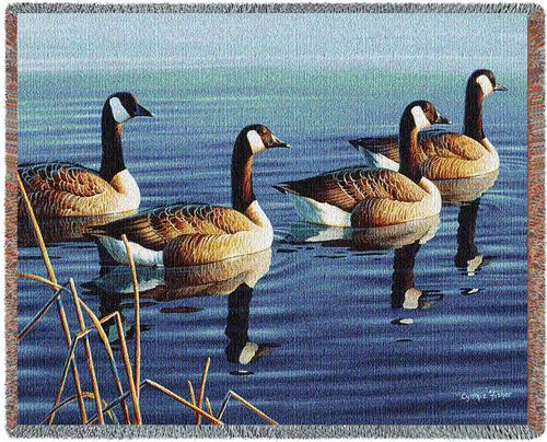 Afternoon Procession Tapestry Throw, 53in x 70in