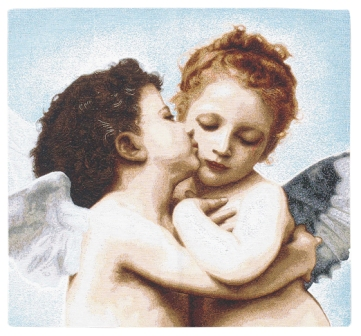 Angels Tapestry Wallhanging, 28in x 28in