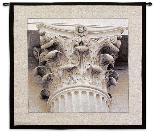 Architectural Detail III Tapestry Wall Hanging, 35in x 35in