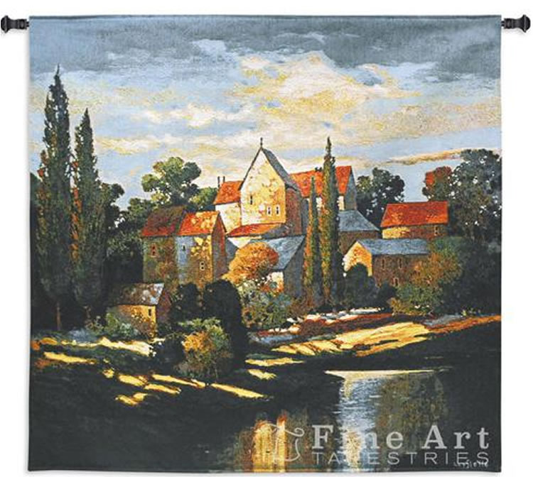 Autumn Memories Tapestry Wall Hanging, 53in X 53in
