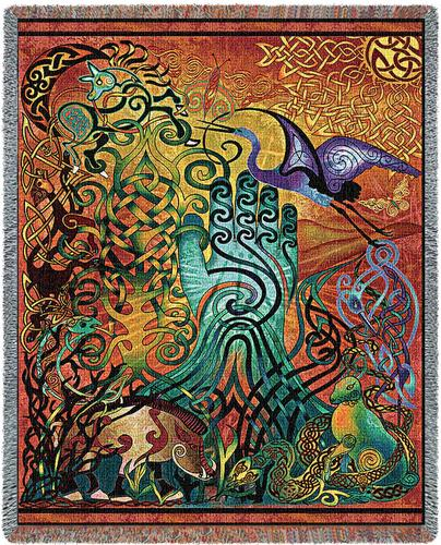 Awen Tapestry Throw, 54in x 70in