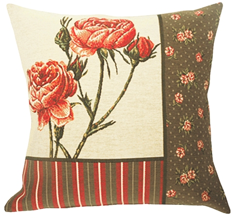 Bagatelle Tapestry Cushion Cover - European Home Decor Collection, 18in x 18in cushion cover