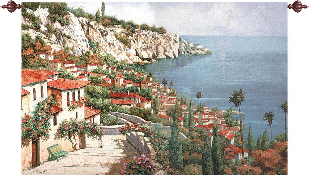 Bellagio Park Tapestry Wall Hanging, H90in x W70in