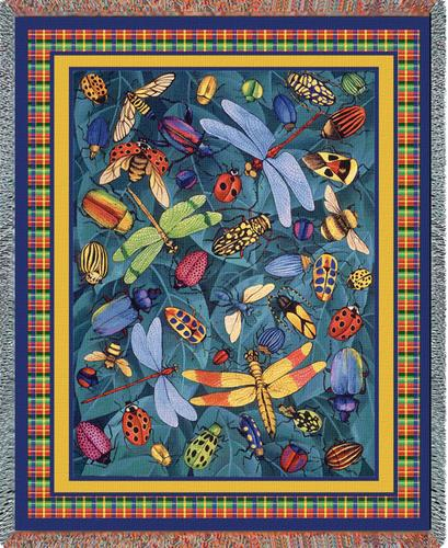 Bugs Life Tapestry Throw, 54in x 70in