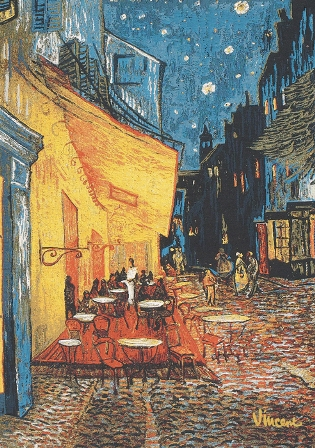 Van Gogh's Cafe Terrace at Night, 28in x 20in