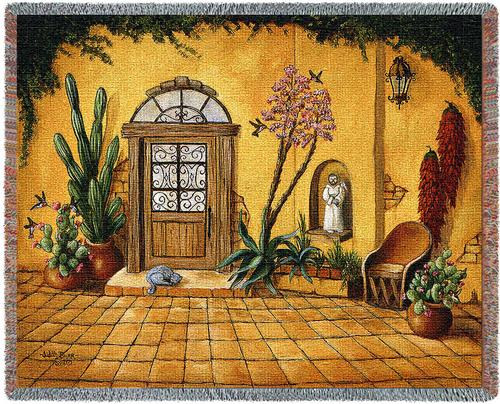 Casa Bonita Tapestry Throw, 54in x 70in