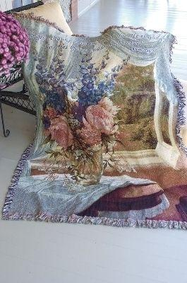 Country Estate Tapesty Throw, 51in x 68in